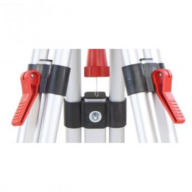 Nestle N131 lehký hliníkový stativ s libelou, rychlosvěrami a rozsahem 90 - 170 cm, fotografie 3/3