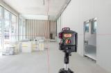 Geo6X SP kit s červeným paprskem a Li-Ion akumulátorem pro vytvoření až 6ti křížů na všech stěnách, fotografie 13/11