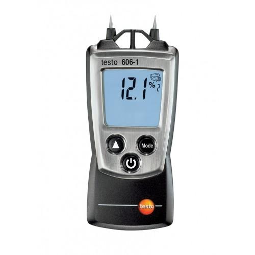 Vlhkoměr Testo 606-1 pro měření vlhkosti a teploty stavebních materiálů a vlhkosti vzduchu