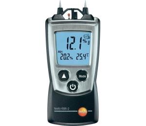 Vlhkoměr/teploměr Testo 606-2 pro měření vlhkosti a teploty stavebních materiálů a vlhkosti vzduchu
