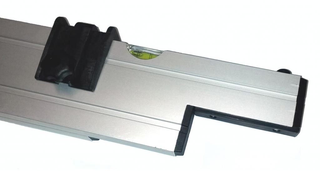 Nivelo BASIS set pro podlaháře sestávající z 1 nastavitelné latě a 2 stahovacích kolejnic, fotografie 9/9