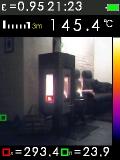 Termokamera FTI 300 s automatickým vyhledáváním horkých a studených bodů, fotografie 1/11