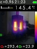 Termokamera FTI 300 s automatickým vyhledáváním horkých a studených bodů, fotografie 7/11