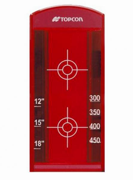 cílový terč dlouhý k potrubnímu laseru Topcon TP-L3/4
