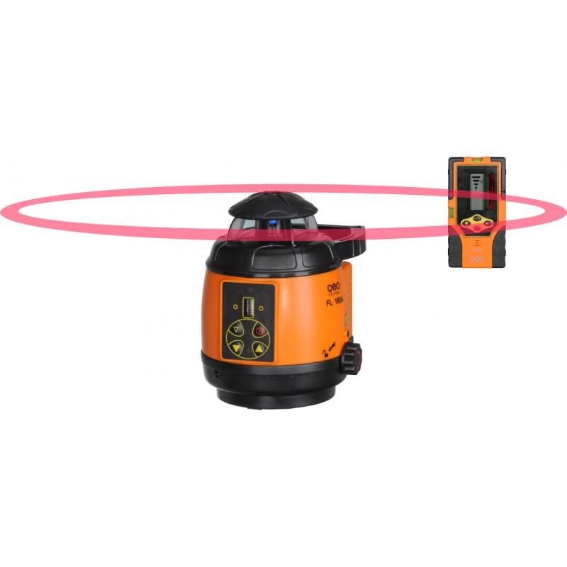 Přijímač FR45 pro rotační lasery s červeným i zeleným paprskem, fotografie 7/5