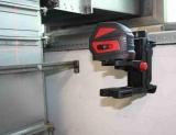 Stěnový dvojdílný držák NWM-802 pro připevnění liniových laserů na zeď, kovové profily, trubky, stativy či kovové součásti, fotografie 5/9