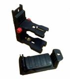 Stěnový dvojdílný držák NWM-802 pro připevnění liniových laserů na zeď, kovové profily, trubky, stativy či kovové součásti, fotografie 9/9