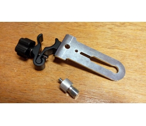 Držák BSS-01 pro připevnění liniových laserů na rozpěrnou tyč nebo kovové a dřevěné profily kruhového průřezu