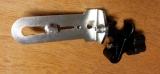 Držák BSS-01 pro připevnění liniových laserů na rozpěrnou tyč nebo kovové a dřevěné profily kruhového průřezu, fotografie 7/8