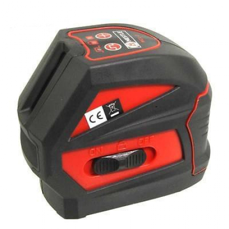 NCL-2 je křížový laser s přesností +/- 3 mm / 10 m především pro práci v interiéru s kalibrací a dopravou v ceně