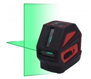 NCL-2G je zelený křížový laser s přesností +/- 3 mm / 10 m  s kalibrací a dopravou v ceně