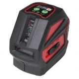 NCL-2G je zelený křížový laser s přesností +/- 3 mm / 10 m  s kalibrací a dopravou v ceně, fotografie 1/4