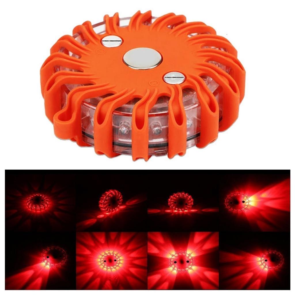 LED1 varovné světlo
