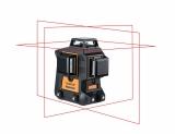 Sada liniového laseru Geo6X s přijímačem FR 55 a klikovým stativem FS 10, fotografie 11/12