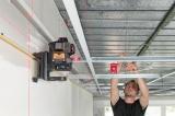 Sada liniového laseru Geo6X s přijímačem FR 55 a klikovým stativem FS 10, fotografie 23/12