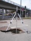Nedo N710 těžký klikový kanálový stativ s rychlosvěrami a rozsahem 112 - 500 cm, fotografie 3/3