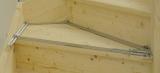 Úhelníková šablona T510 se 13 hliníkovými kolejnicemi, fotografie 1/3