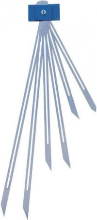 Schodišťová šablona T500 se 6 měrkami z tvrzené oceli