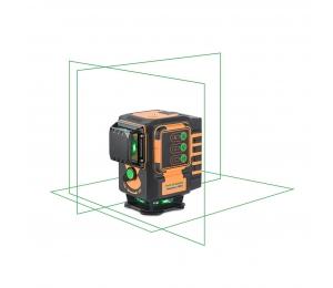 Geo6-XR Green s Li-Ion aku pro všechny profese instalující různé předměty na zdi a podlahy