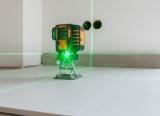 Geo6-XR Green s Li-Ion aku pro všechny profese instalující různé předměty na zdi a podlahy, fotografie 17/13