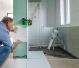 Geo6-XR Green s Li-Ion aku pro všechny profese instalující různé předměty na zdi a podlahy, fotografie 1/13