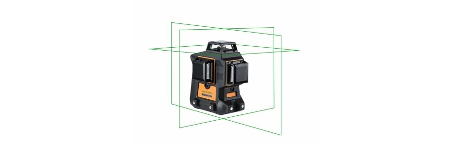Stále oblíbenější zelený křížový laser Geo6X Green