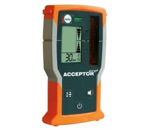 Přijímač ACCEPTOR PRO+ pro lasery s červeným paprskem se zobrazením výšky v mm