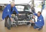 Kvalitní měřící výsuvná lať AutoMesfix 950 mm pro odečet vzdálenosti mezi 2 body, fotografie 5/8