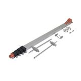 Kvalitní měřící výsuvná lať AutoMesfix 950 mm pro odečet vzdálenosti mezi 2 body, fotografie 3/8