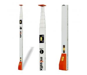 Kvalitní měřící lať Messfix 4 m s okénkem pro odečet dole