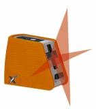 X-Liner 2 je červený křízový laser s přesností +/- 3mm / 10m a dosahem 25m, fotografie 7/5