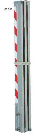 LK460 lať hliníková kontrolní 5 m / 1,25 m