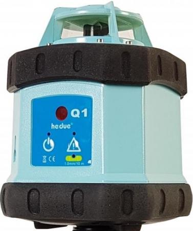 Hedü Q1 BAG pro vodorovnou rovinu a manuální sklon v ose X a Y do +/- 9 % s urovnáním pomocí servomotoru