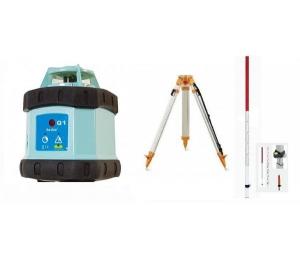 Sada Q1K1 = rotační laser + stavební stativ a lať
