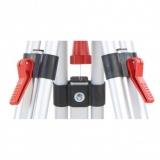 Nestle N13105 mini hliníkový stativ s libelou, rychlosvěrami a rozsahem 90 - 170 cm, fotografie 3/3